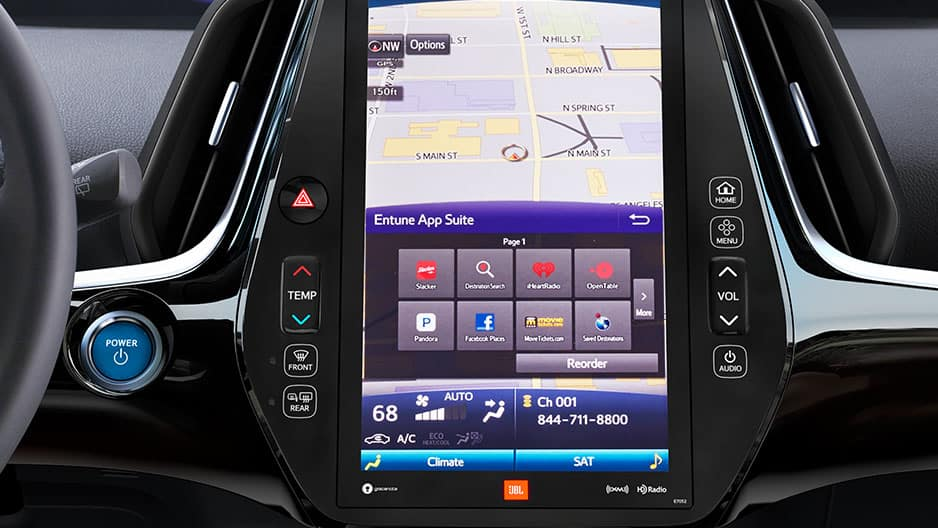 Technology Features of the New Toyota Prius at Garber in Waukegan, IL