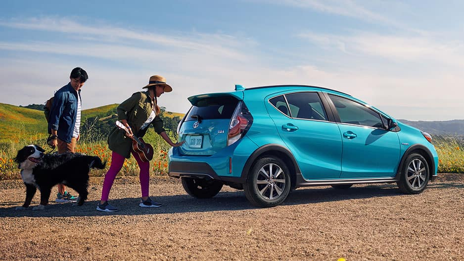 Exterior Features of the New Toyota Prius c at Garber in Fox Lake, IL