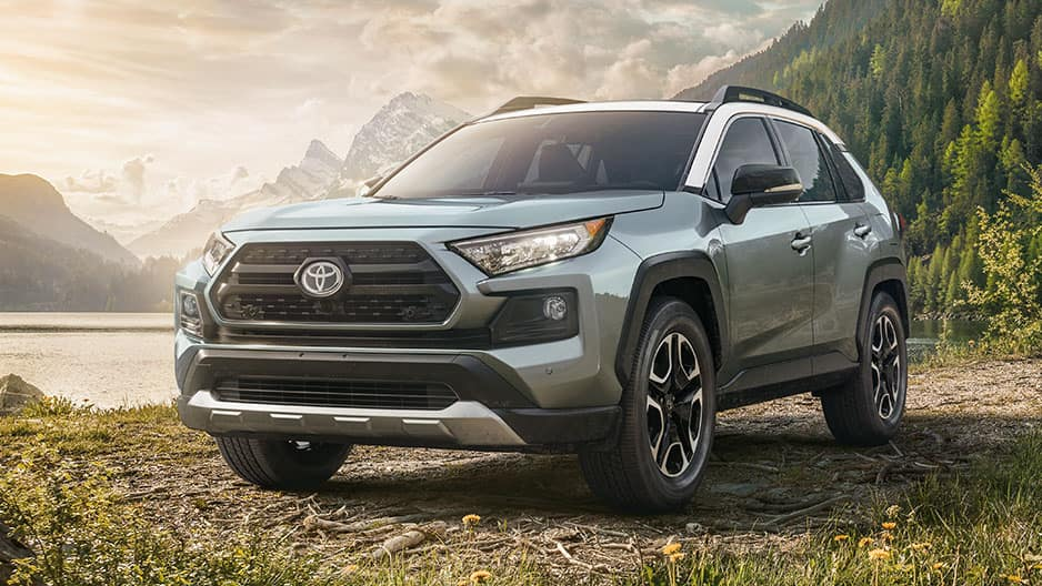 Exterior Features of the New Toyota RAV4 at Garber in Fox Lake, IL