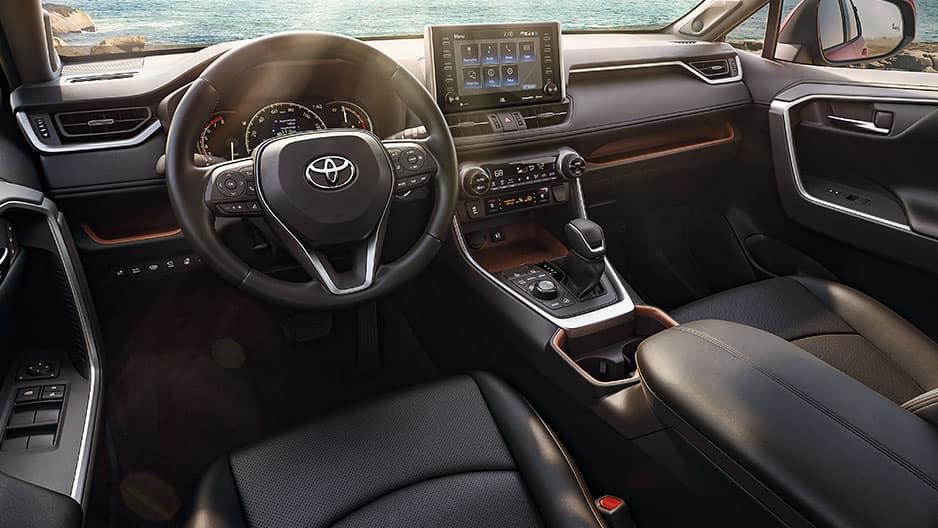 Interior Features of the New Toyota RAV4 at Garber in Fox Lake, IL