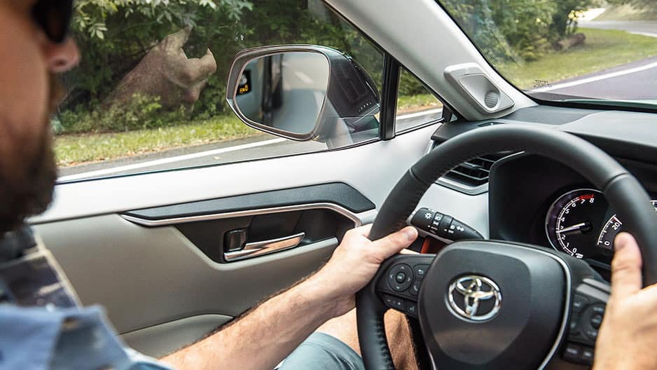 Safety Features of the New Toyota RAV4 at Garber in Waukegan, IL