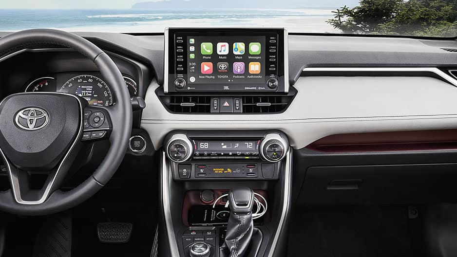 Technology Features of the New Toyota RAV4 at Garber in Waukegan, IL