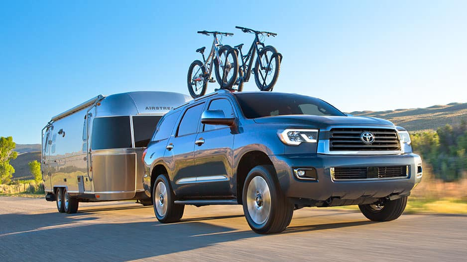 Performance Features of the New Toyota Sequoia at Garber in Waukegan, IL