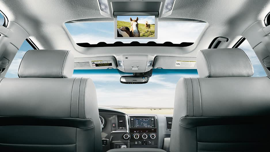 Technology Features of the New Toyota Sequoia at Garber in Waukegan, IL