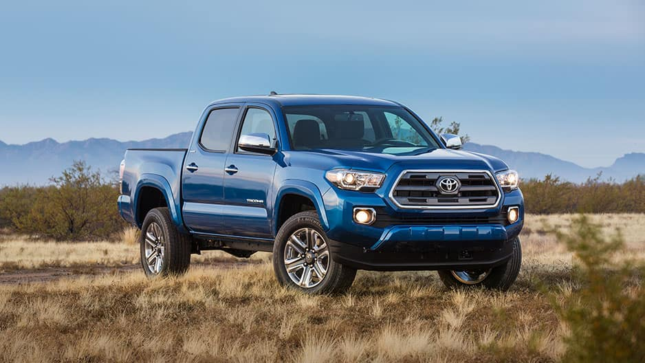 Exterior Features of the New Toyota Tacoma at Garber in Fox Lake, IL
