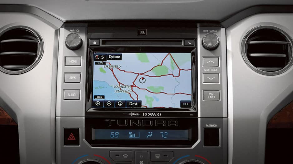 Technology Features of the New Toyota Tundra at Garber in Waukegan, IL