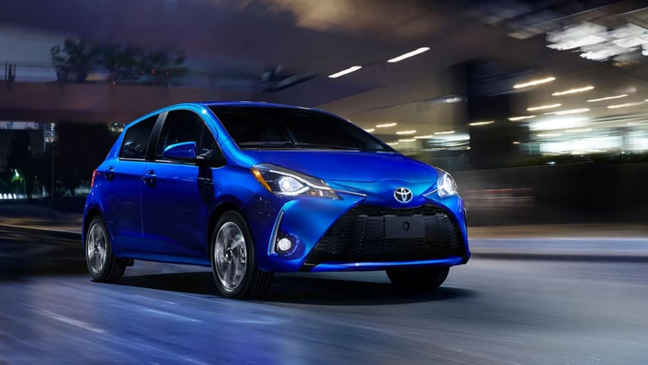 Exterior Features of the New Toyota Yaris at Garber in Fox Lake, IL