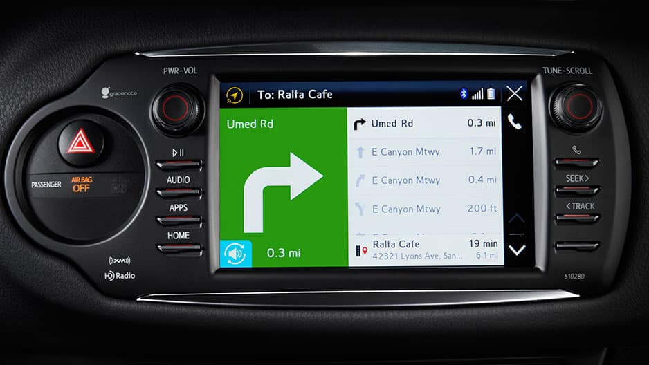 Technology Features of the New Toyota Yaris at Garber in Waukegan, IL