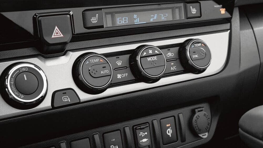 2018 Toyota Tacoma Interior Controls