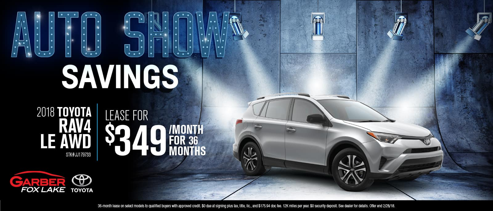 Toyota RAV4 Auto Show Savings