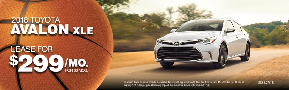 Avalon Offer March Toyota Fox Lake
