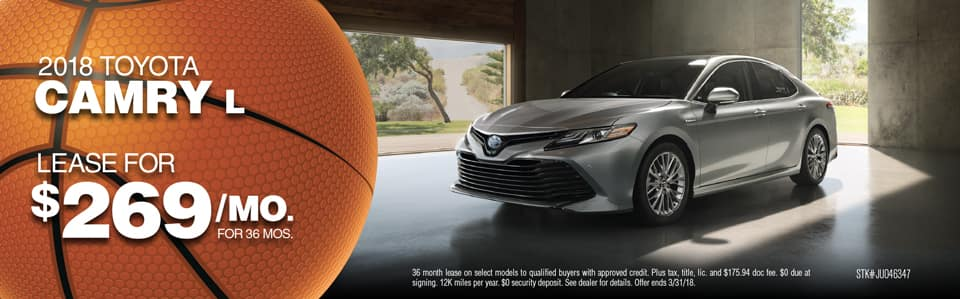 Camry Offer March Toyota Fox Lake