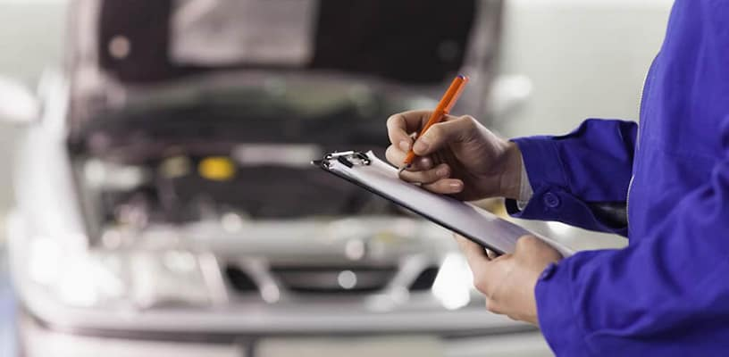 coupons mechanic inspection checklist
