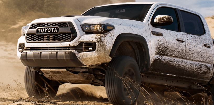 2018 Toyota Tacoma with TRD Skid Plate