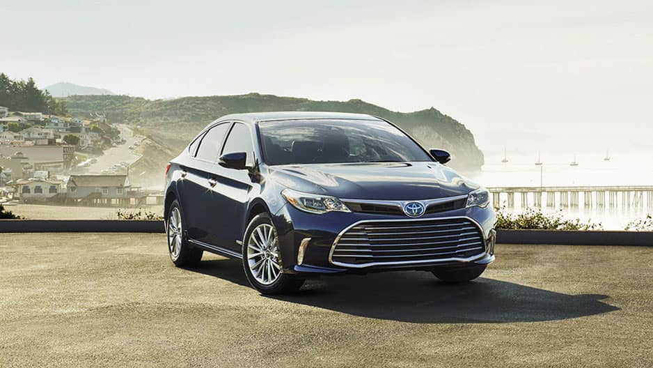 Exterior Features of the New Toyota Avalon at Garber in Fox Lake, IL