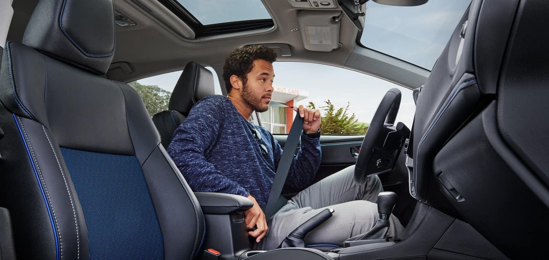 2019 Toyota Corolla interior banner