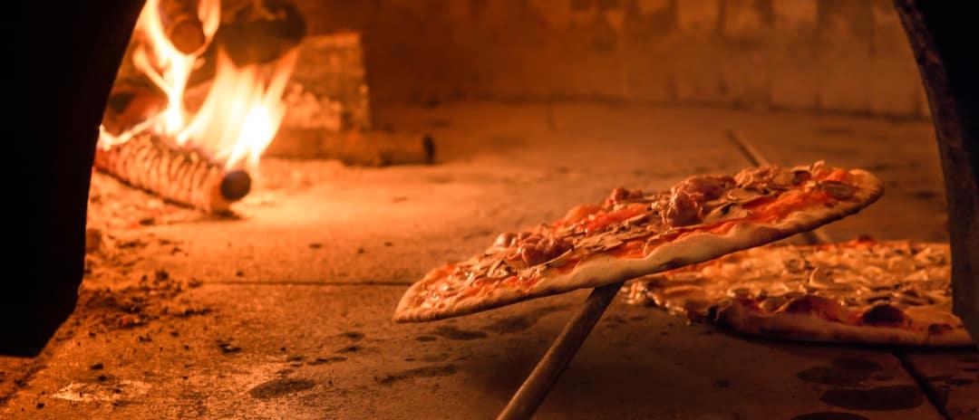 Thin Crust in Brick Pizza Oven