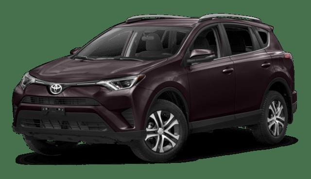 2018 Toyota RAV4 LE compare