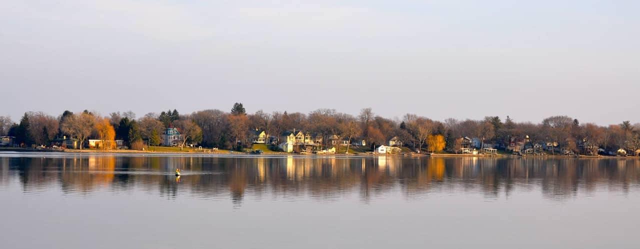 Fox Lake in Autumn