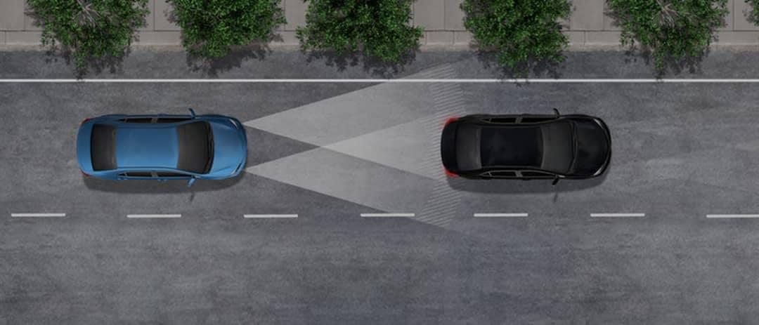 Toyota Safety Sense Automatic High Beams