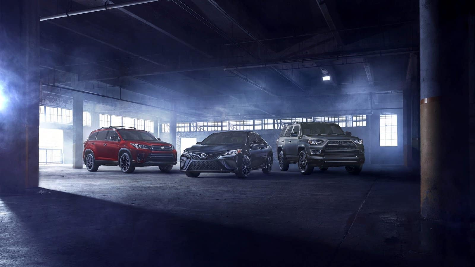 2019 Toyota Camry And Toyota Highlander Get Nightshade Treatment