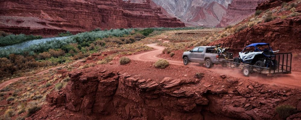 2019 Toyota Tacoma Towing in Desert