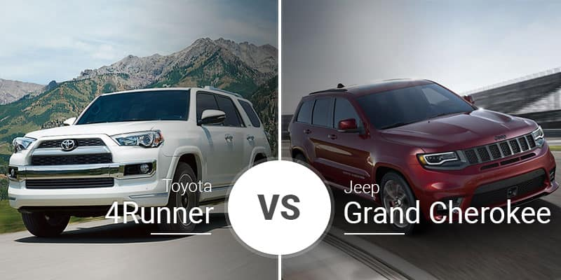 Jeep Grand Cherokee Vs Toyota 4runner >> Toyota 4runner Vs Jeep Grand Cherokee Classic Suv Battle