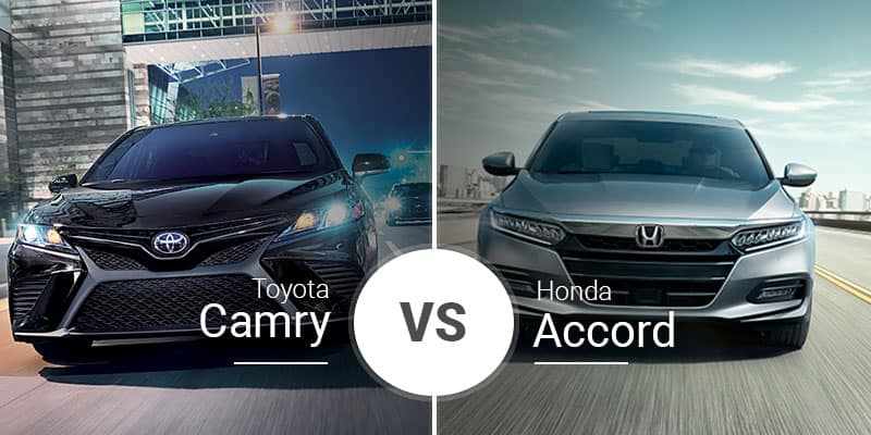 Toyota Camry Vs Honda Accord >> Toyota Camry Vs Honda Accord Midsize Match Of Might