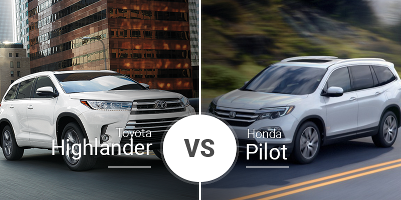Toyota Highlander Vs Honda Pilot >> Toyota Highlander Vs Honda Pilot 3 Rows Chock Full With Premium