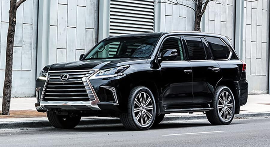 Toyota Land Cruiser Vs  Lexus LX 570: Battle of the Big Boys