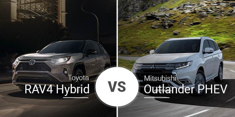 Toyota RAV4 Hybrid Vs  Mitsubishi Outlander PHEV