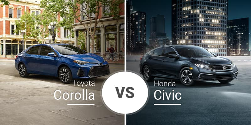Corolla Vs Civic >> Toyota Corolla Vs Honda Civic