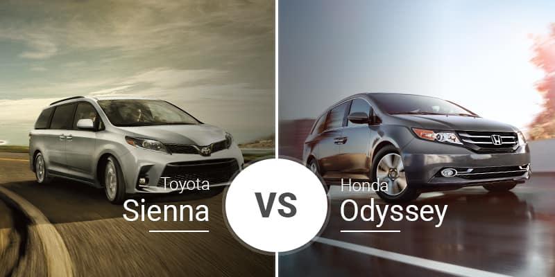 Toyota Sienna Vs  Honda Odyssey