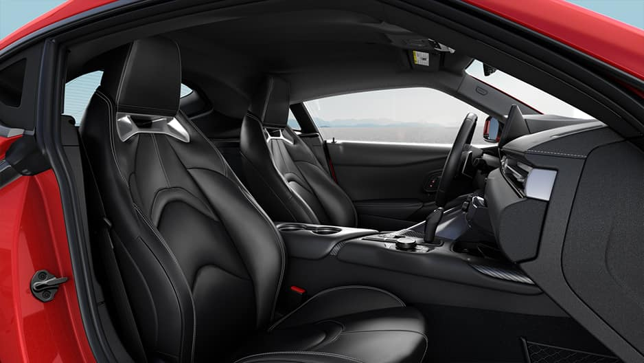 Interior Features of the New Toyota GR Supra at Garber in Fox Lake, IL