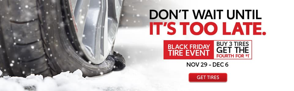 Black Friday Tire Event