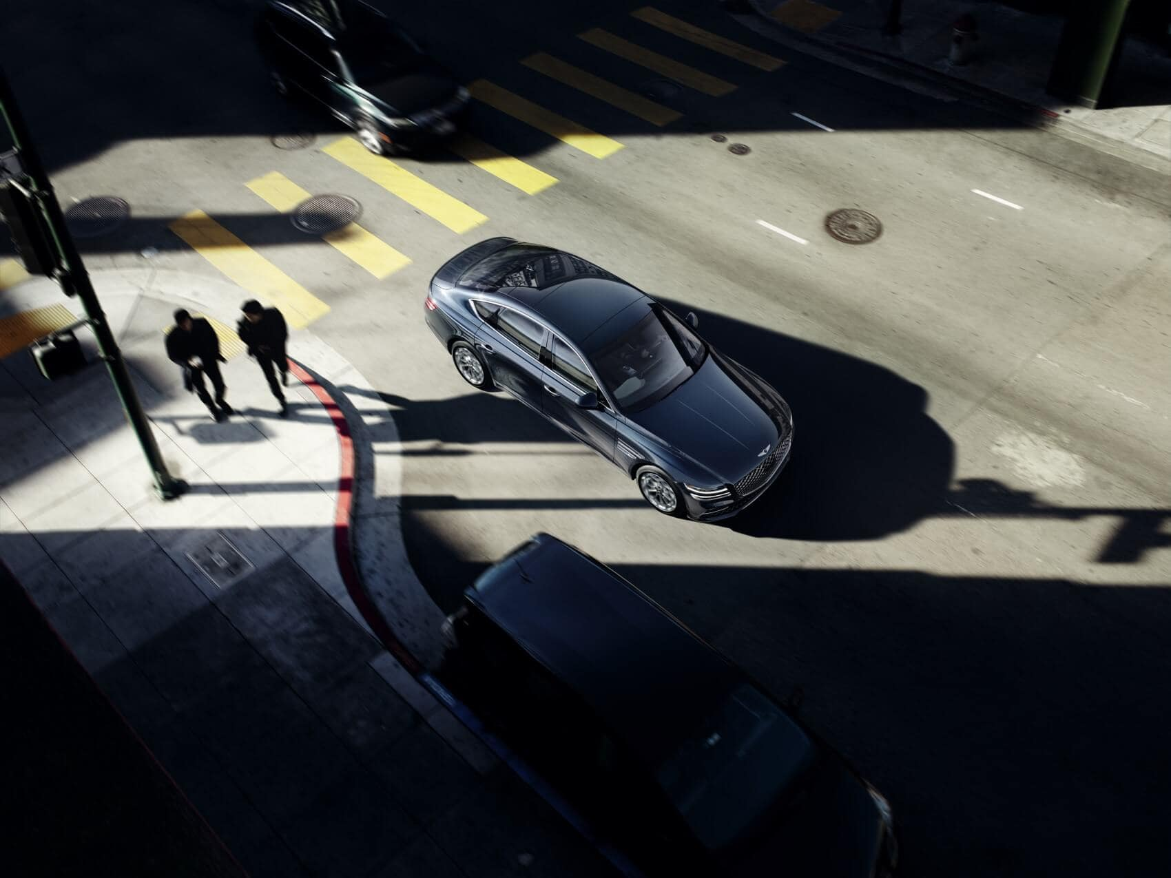 Genesis vs BMW Safety