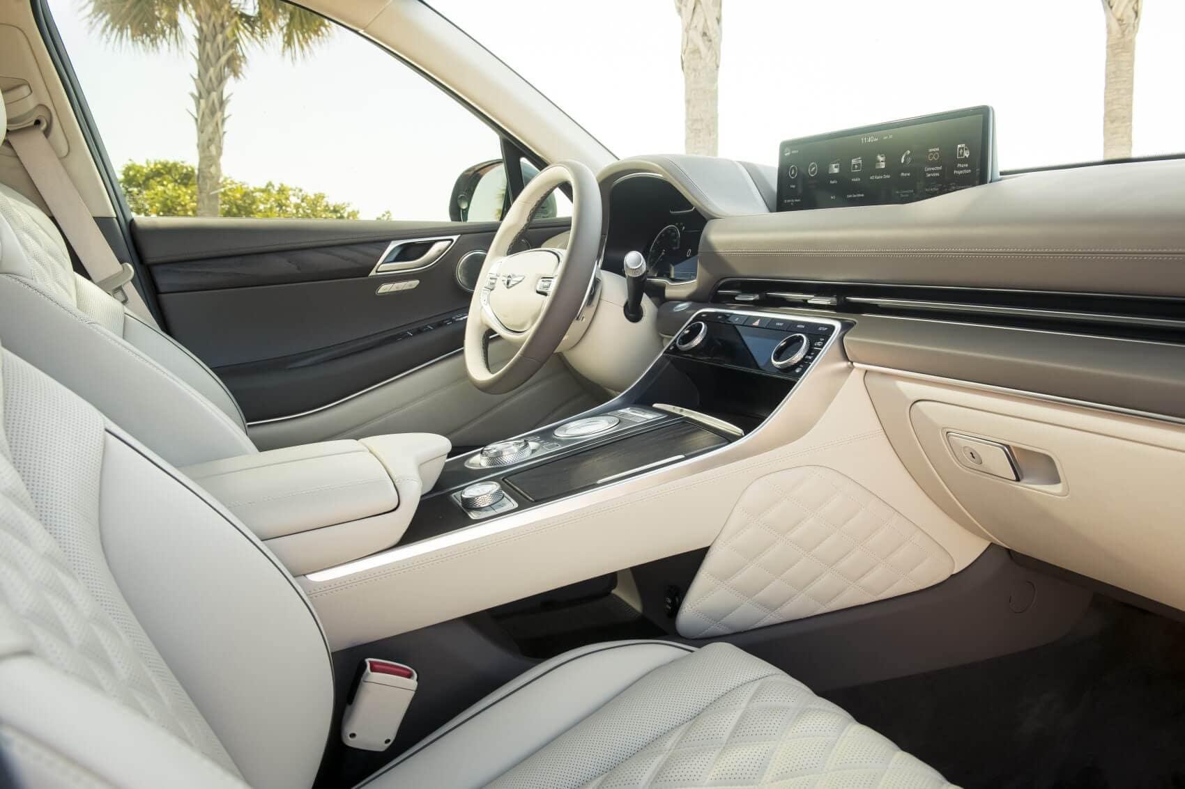 Genesis GV80 vs Range Rover Sport Interior