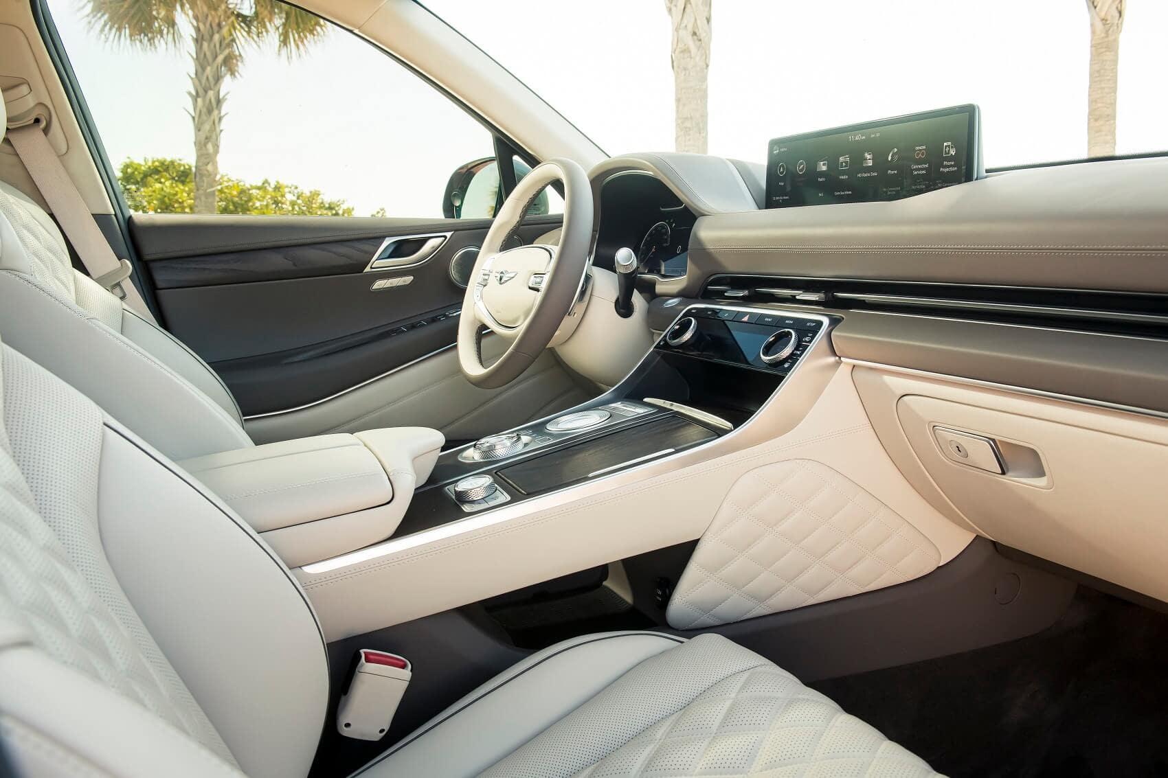 The Genesis GV80 Interior: Convenience Features