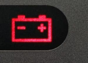 Genesis G90 Charging System Warning Light