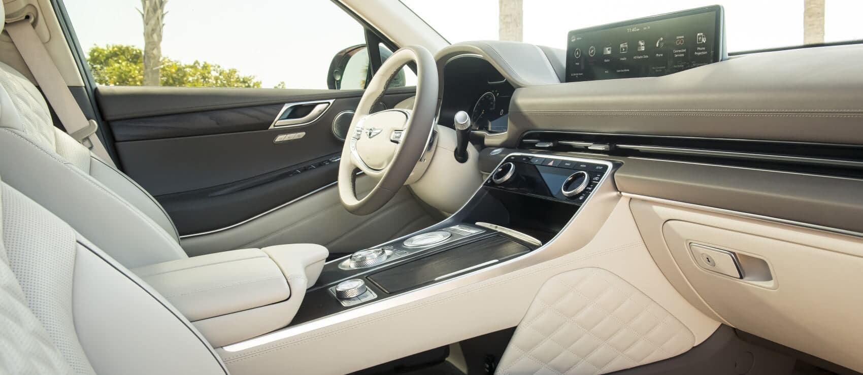 Genesis GV80 vs Acura MDX Interior