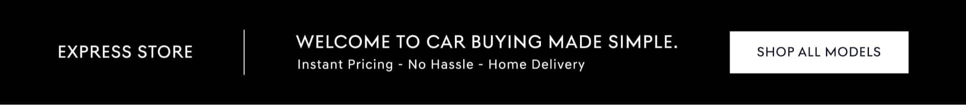 Car buying made easy banner