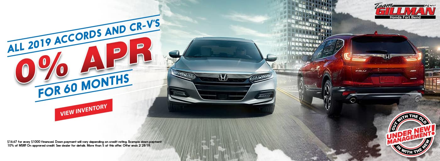 All-2019-Accords-And-CRV-0%-APR