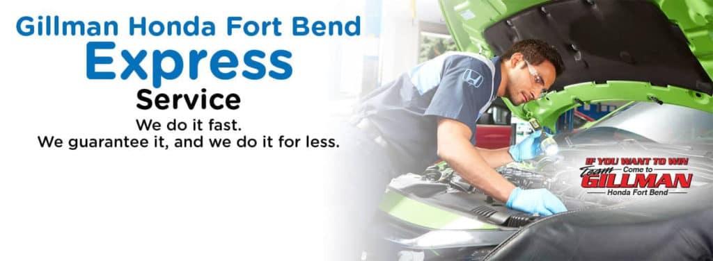 Gillman Honda Ft. Bend Express Service-WB