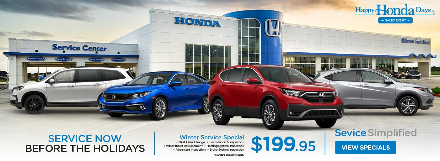 Gillman Honda Fort Bend Honda Dealership Near Sugar Land