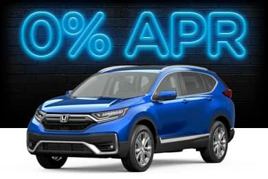 New 2021 Honda CR-V Models