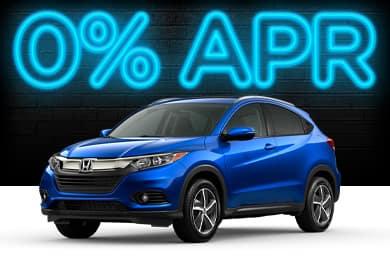New 2021 Honda HR-V Models