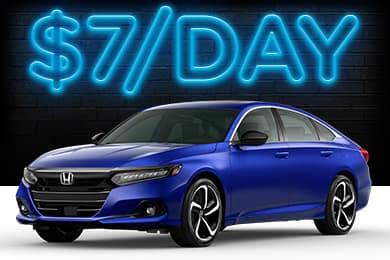 New 2021 Honda Accord Lease