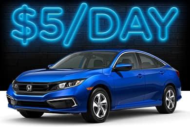 New 2021 Honda Civic Lease Offer