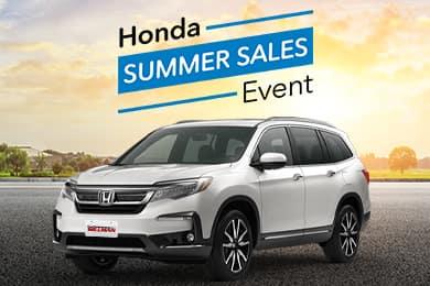 0% APR 2021 Honda Pilot Special