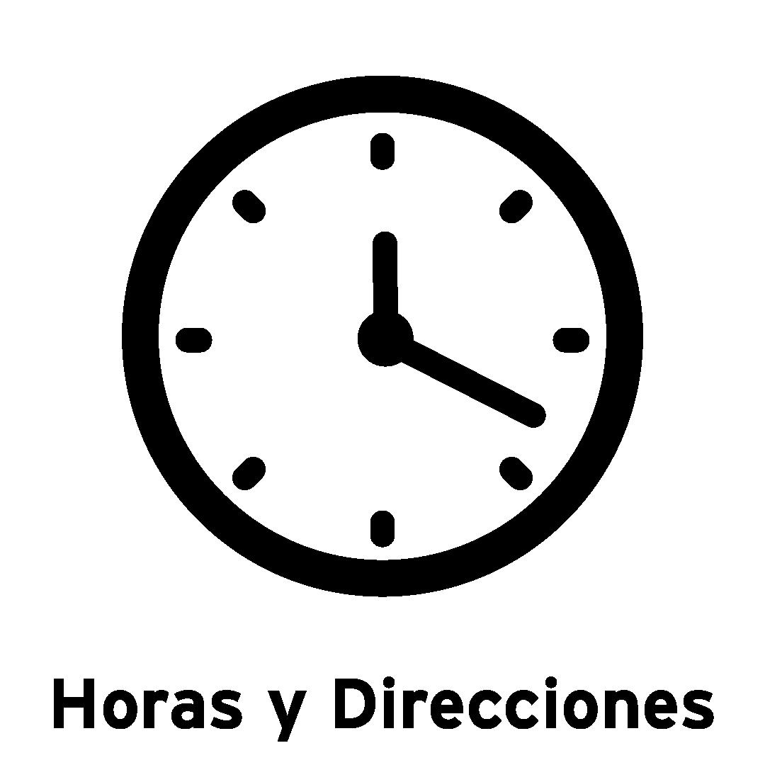 Horas y direcciones